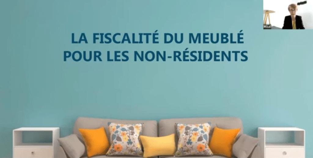 fiscalité LMP LMNP non-résidents