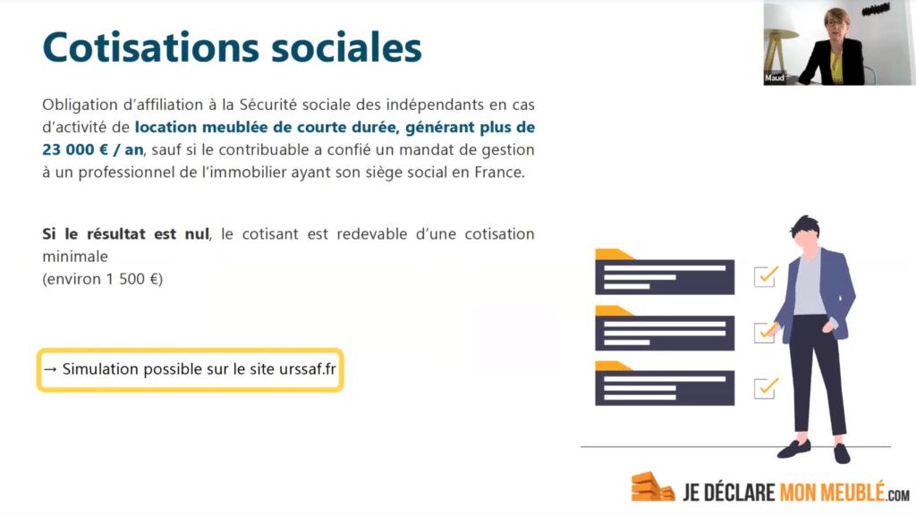 cotisations sociales LMP